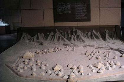 西安半坡博物馆一景