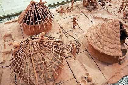 西安半坡博物馆景色