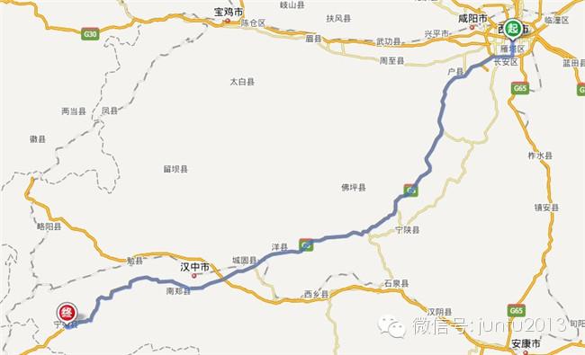 西安到秦岭风景区