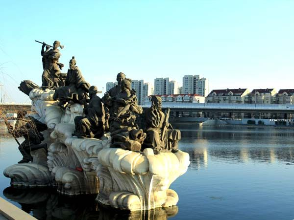 八仙墩雕塑1