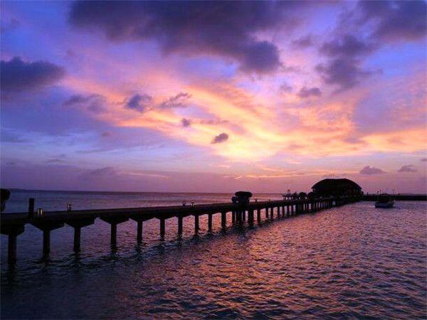 双鱼岛日落