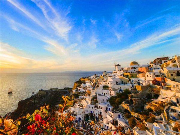 希腊-蓝顶教堂-圣托尼里岛-米克诺斯岛9