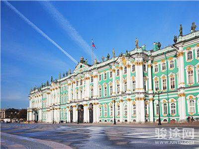 0007035-8350504-俄罗斯冬宫-白-远-有