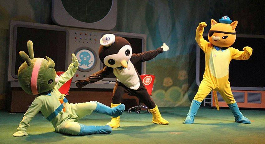 英国bbc热播动画片《海底小纵队》舞台剧版即将迎来南昌站