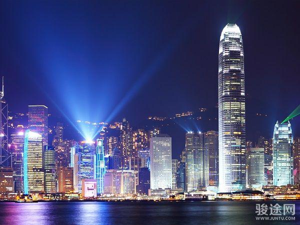 0182055-19542215-香港维多利亚港夜