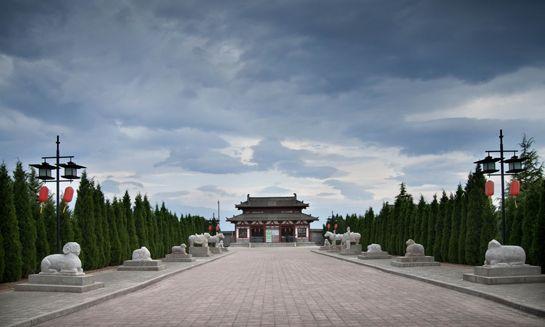 宝鸡大唐秦王陵博物馆