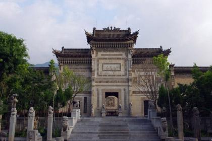 关中民俗艺术博物院景区图
