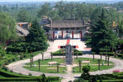 昭陵博物馆内景