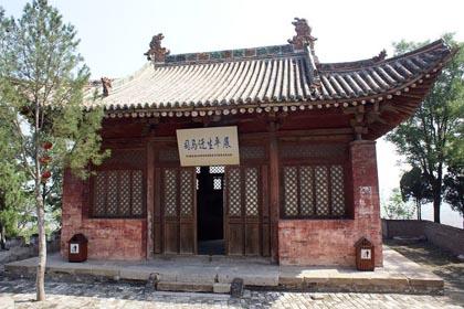 韓城司馬遷祠風景圖