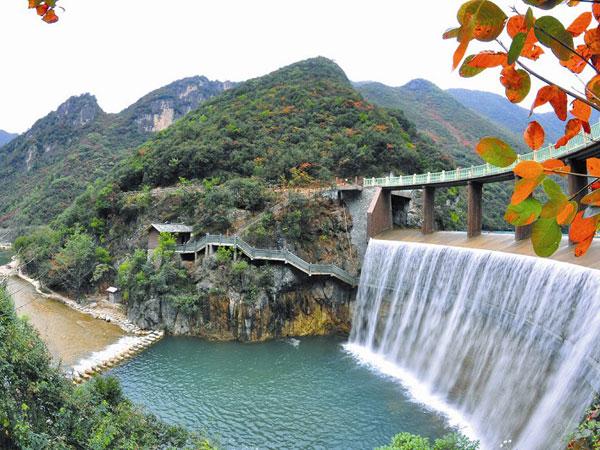 鄖西五龍河風景區