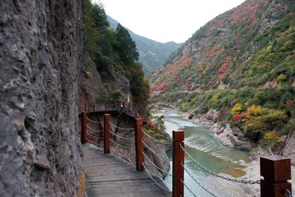 鳳縣靈官峽景區
