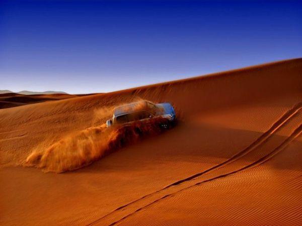 越野沙漠冲沙