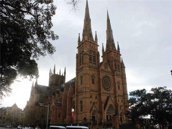 悉尼圣玛丽大教堂