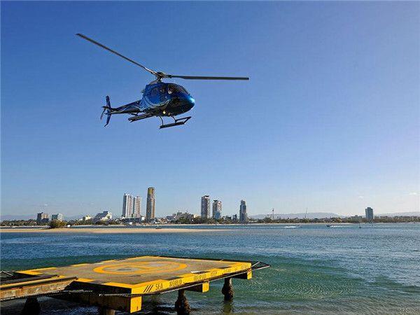 直升飛機黃金海岸