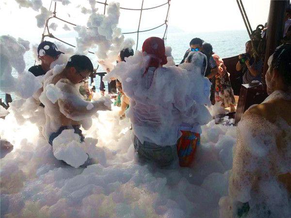 海盗船泡沫