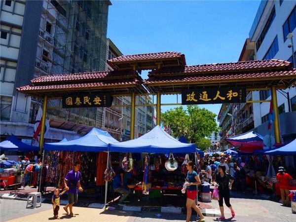 中国街头集市