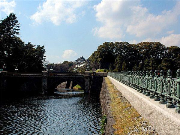 日本皇居二重橋2