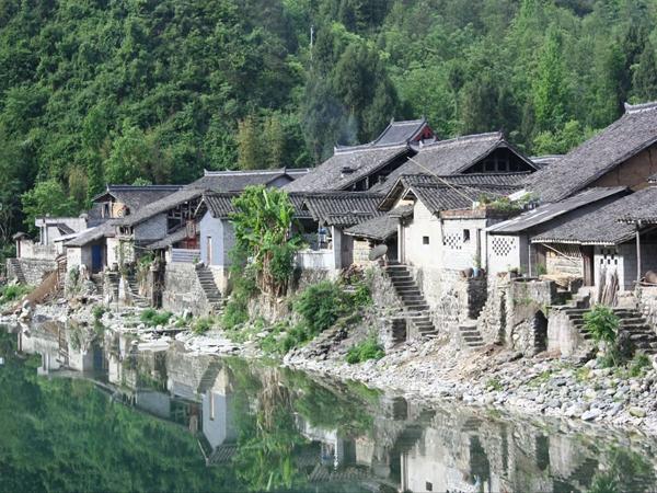 青木川古镇