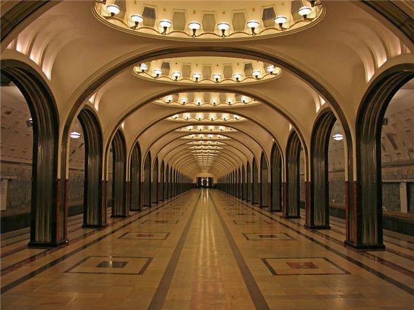 莫斯科★地鐵站
