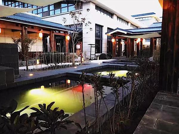 陕西工人疗养院温泉