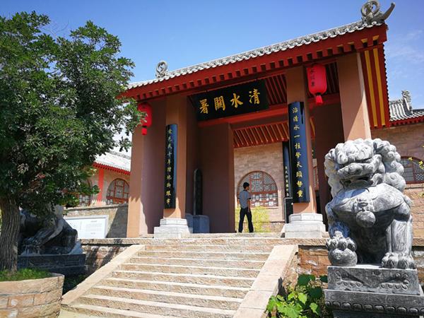延川乾坤湾景区