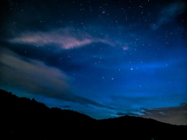 <少华山第二届高山露营节2日游>寻找美丽的星空,眺望美丽的日出