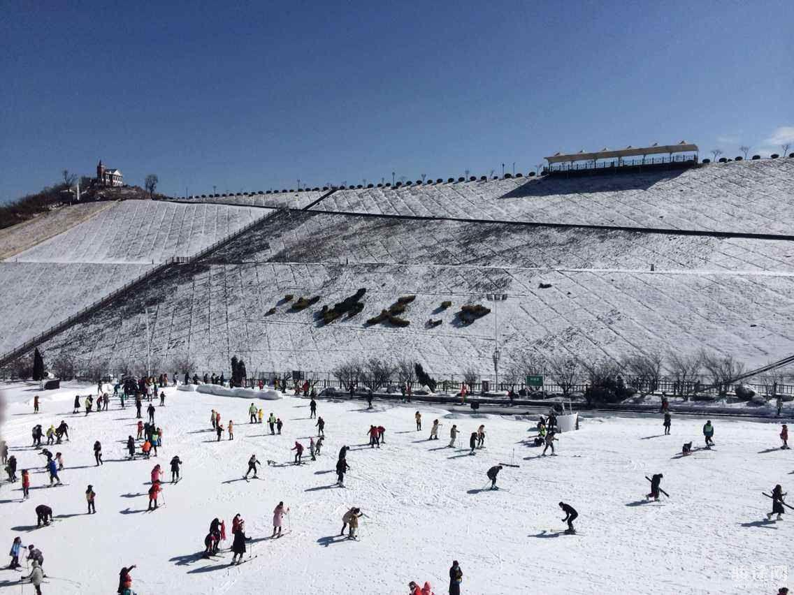 湖州安吉观音塘滑雪场