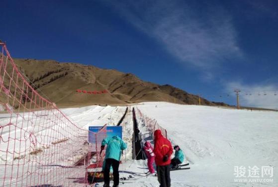 张掖祁连山国际滑雪场